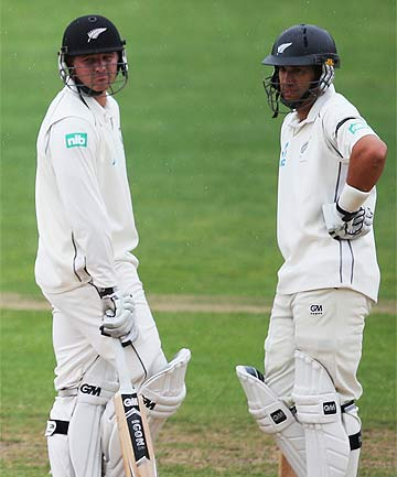 Ross Taylor and Corey Anderson