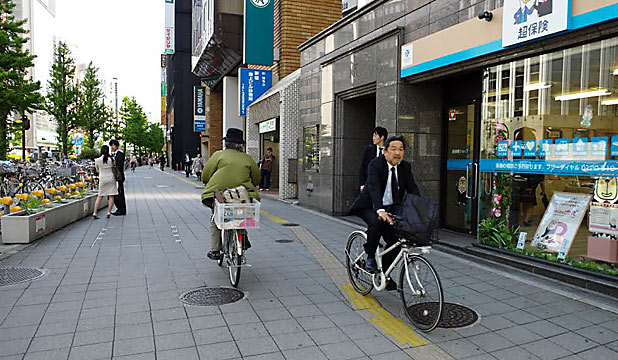 Cycling in Tokyo