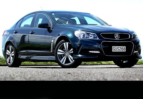 Holden Commodore SV6.