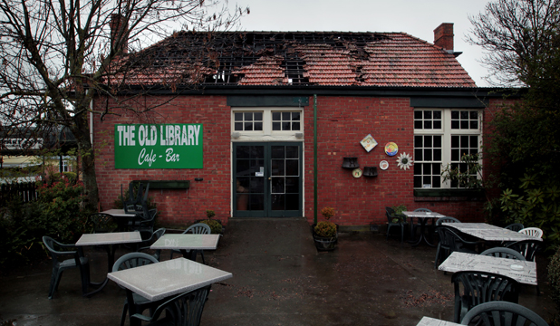 fairlie old library cafe
