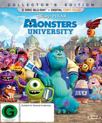 Blu-ray review: Monster's University (Collector's Edition)