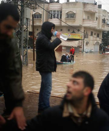 Gaza Strip Flooding