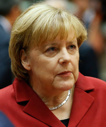 UNIMPRESSED: German Chancellor Angela Merkel.