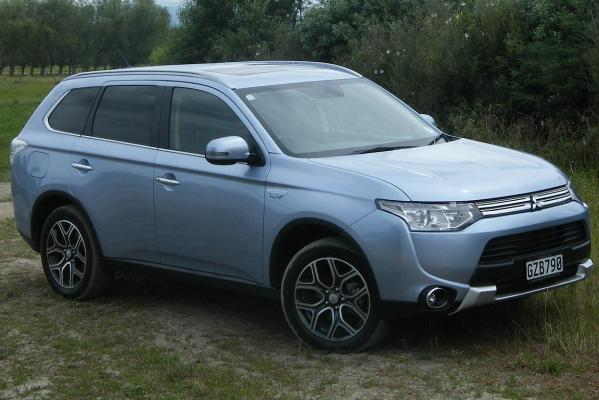Mitsubishi's electric Outlander PHEV.