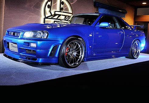 Nissan Skyline from Fast and Furious 4.