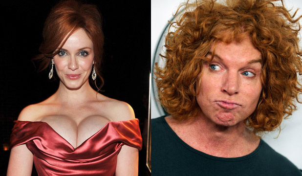 Redhead: Girls 'hot' men 'not'
