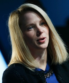 APOLOGY: Yahoo Chief Executive Marissa Mayer.