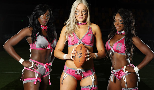'I'm a man & I hate lingerie football'