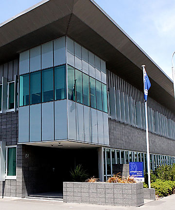 Christchurch South police station