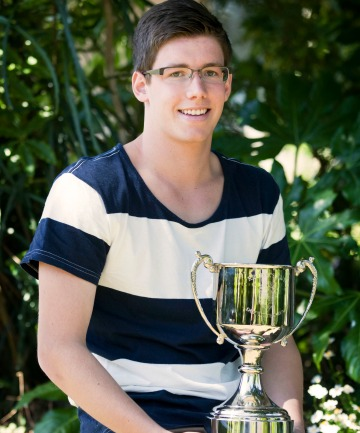 Palmerston North Boys' High School Dux Litterarum Luke Naylor is the son of Palmerston North mayor Jono Naylor.