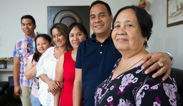 They have experienced first-hand the devastation of Typhoon Haiyan, but these two families will not let it break them.