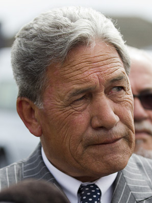 NZ First leader Winston Peters.