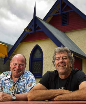 Free House owners Mic Dover, left, and Eelco Boswijk