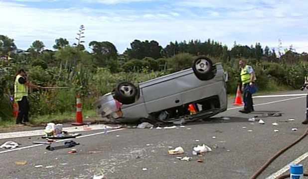Raumati South crash