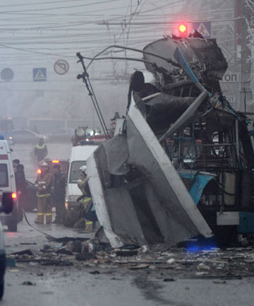 Bus blast in Volgograd