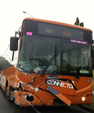 Beerescourt bus crash