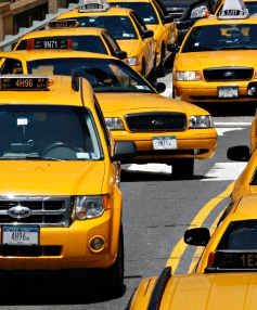 Ridesharing service Uber faces lawsuits from taxi companies.