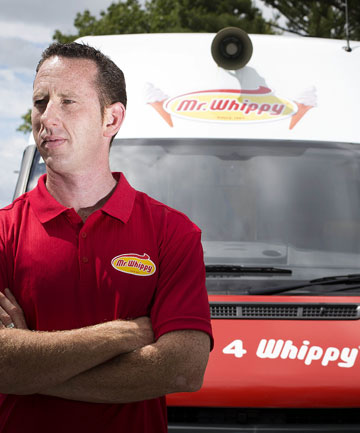 Carl Russell is East Auckland's Mr Whippy