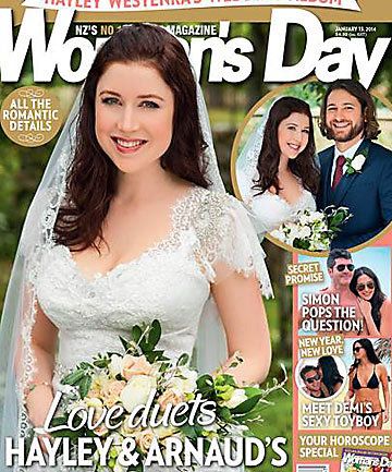 Hayley Westenra Woman's Day cover