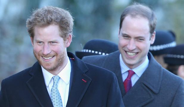 Prince Harry and Wills