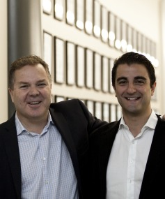 PowerbyProxi co-founders Greg Cross and Fady Mishriki.