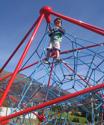Lake Hawea playground