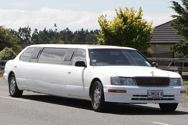 Bain wedding limo
