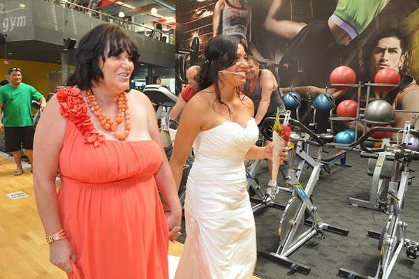 gym wedding 1