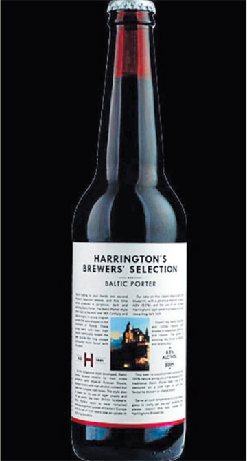 Harrington's  Brewer's Selection Baltic Porter