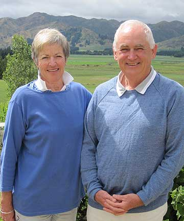 Amuri farmers Elizabeth and Dick Davison are enjoying the social revolution in their district.