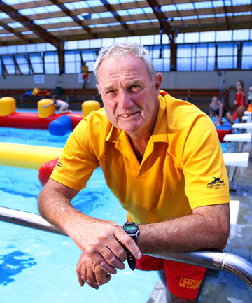 Methanex Bell Block Aquatic Centre pool manager Mike Fox