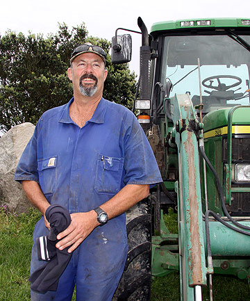 Warea farmer Vaughn Brophy is Taranaki's newest member of the Fonterra Shareholders' Council.