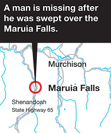 Maruia Falls location