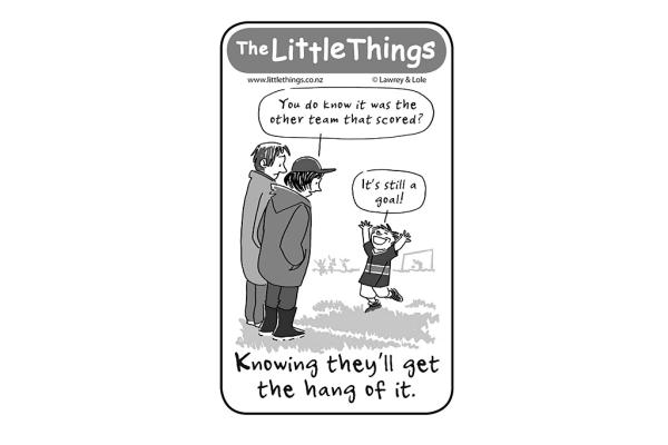 Monday, February 3: Get the hang of it