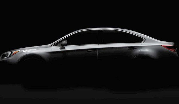 Subaru has released a teaser image of its new Legacy.