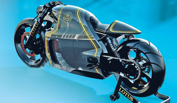 Lotus C-01 motorcycle.