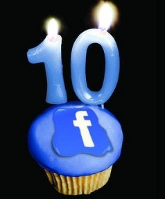 Facebook launched 10 years ago tomorrow.