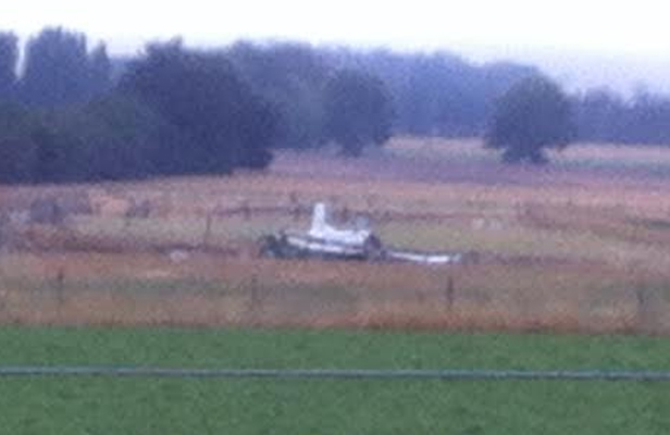 Crashed plane near Otane, Hawke's Bay