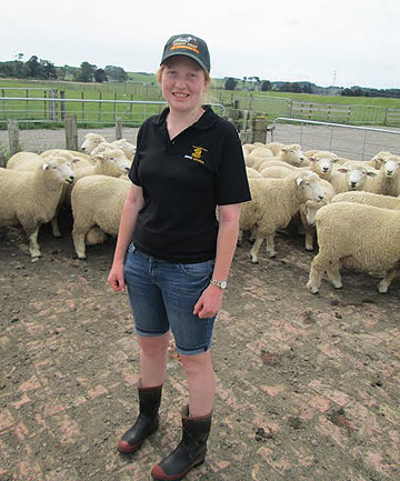 Beef + Lamb New Zealand scholar Isabel Tait