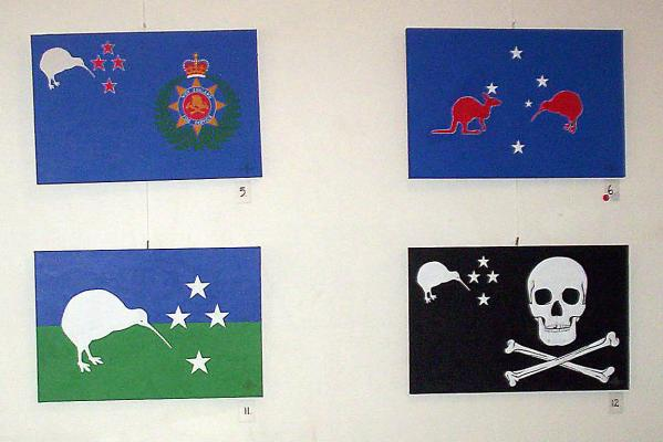 Reuben Romany New Zealand flag designs