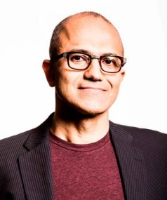 SATYA NADELLA: His interests include cricket and poetry.