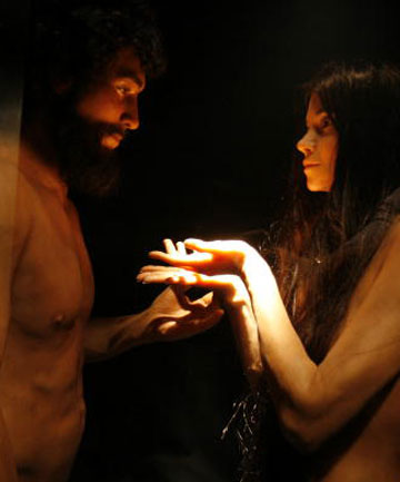 Creation museum, Adam and Eve