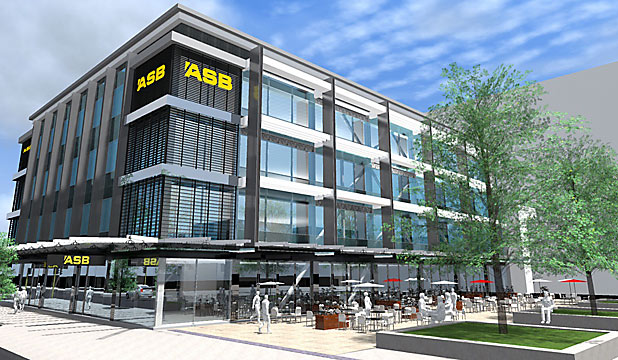 ASB bank artists impression