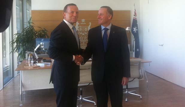 Tony Abbott, John Key