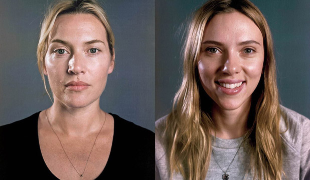 Stars go without makeup