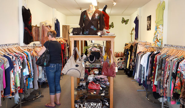 Second-hand stores