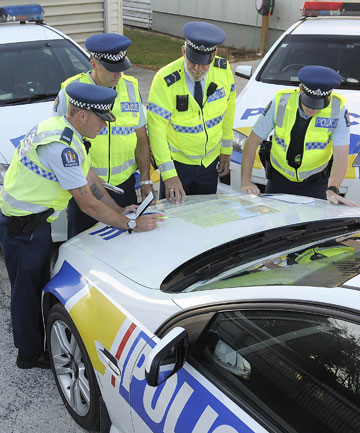 Te Anau police operation