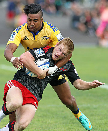 Julian Savea and Johnny McNicholl