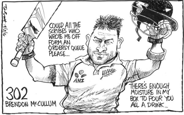 Wednesday, February 19: McCullum's victory