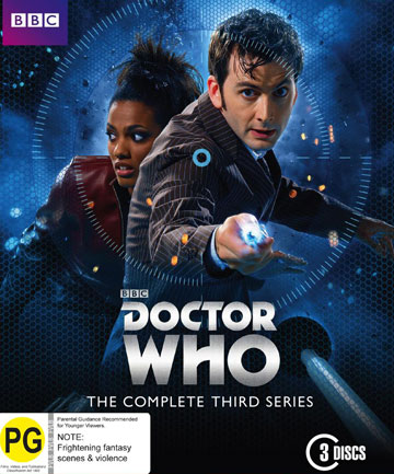 Blu-ray review: Doctor Who - The Complete Third Series